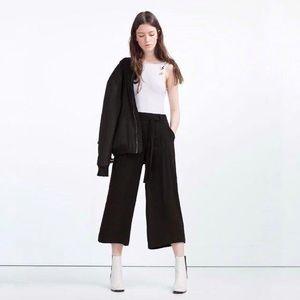 ZARA Trafaluc Trouser Tie Belt Elastic Waits XS